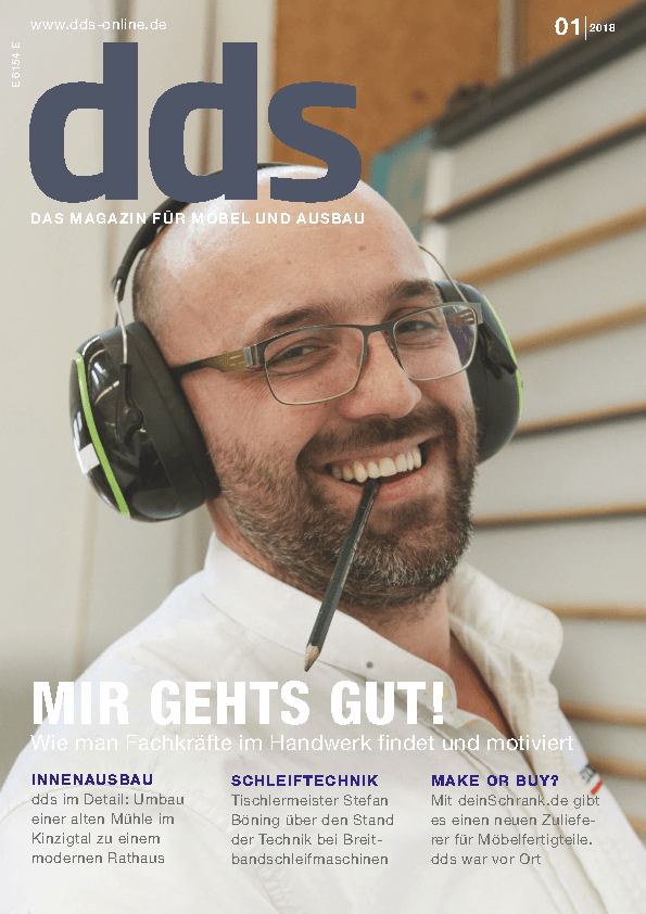 RAUS AUS DER GEWOHNHEIT!Kolumne in der dds Ausgabe 01/2018